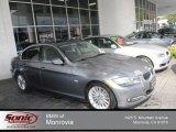 2011 Space Gray Metallic BMW 3 Series 335d Sedan #71860715