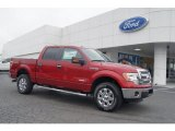 2013 Ruby Red Metallic Ford F150 XLT SuperCrew 4x4 #71860625
