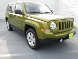2012 Rescue Green Metallic Jeep Patriot Sport 4x4 #71860692