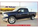2012 True Blue Pearl Dodge Ram 1500 Lone Star Quad Cab 4x4 #71860824
