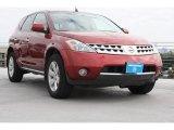 2006 Sunset Red Pearl Metallic Nissan Murano SL #71861091
