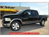 2012 Black Dodge Ram 1500 Outdoorsman Crew Cab 4x4 #71860811