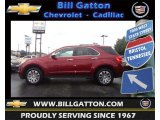 2010 Cardinal Red Metallic Chevrolet Equinox LTZ #71861082