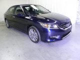 2013 Obsidian Blue Pearl Honda Accord Sport Sedan #71860891