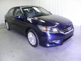 2013 Obsidian Blue Pearl Honda Accord EX Sedan #71860890