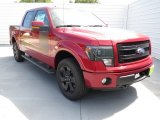 2013 Ruby Red Metallic Ford F150 FX4 SuperCrew 4x4 #71860674