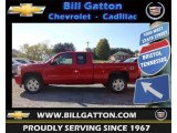 2013 Victory Red Chevrolet Silverado 1500 LTZ Extended Cab 4x4 #71861074