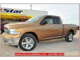 2012 Saddle Brown Pearl Dodge Ram 1500 Lone Star Quad Cab 4x4 #71860801