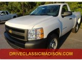 2013 Summit White Chevrolet Silverado 1500 Work Truck Regular Cab #71860976
