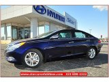 2013 Indigo Night Blue Hyundai Sonata Limited #71860787