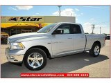 2012 Bright Silver Metallic Dodge Ram 1500 Lone Star Quad Cab #71860863