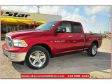 2012 Deep Cherry Red Crystal Pearl Dodge Ram 1500 Lone Star Quad Cab #71860860