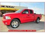 2012 Flame Red Dodge Ram 1500 Express Quad Cab #71860857