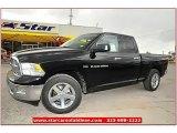 2012 Black Dodge Ram 1500 Lone Star Quad Cab #71860856