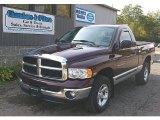 2004 Deep Molten Red Pearl Dodge Ram 1500 SLT Regular Cab 4x4 #71914766