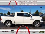 2009 Stone White Dodge Ram 1500 Big Horn Edition Crew Cab 4x4 #71915237