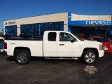 2009 Summit White Chevrolet Silverado 1500 LT Extended Cab 4x4 #71914515
