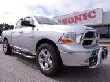 2010 Bright Silver Metallic Dodge Ram 1500 SLT Quad Cab #71914753