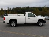 2008 Summit White Chevrolet Silverado 1500 Work Truck Regular Cab #71915106