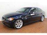 2008 Monaco Blue Metallic BMW 3 Series 335i Sedan #71914622