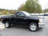 2013 Black Chevrolet Silverado 1500 LT Regular Cab 4x4 #71915097