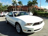 2011 Performance White Ford Mustang V6 Coupe #71914617