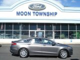 2013 Sterling Gray Metallic Ford Fusion SE #71914731