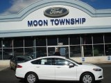 2013 Oxford White Ford Fusion S #71914730
