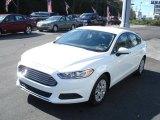 2013 Ford Fusion Oxford White