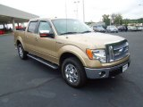 2011 Pale Adobe Metallic Ford F150 Lariat SuperCrew 4x4 #71915090