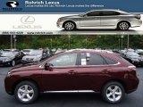 2013 Claret Red Mica Lexus RX 350 AWD #71914721