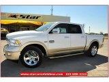 2012 Bright White Dodge Ram 1500 Laramie Longhorn Crew Cab #71914976