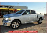 2012 Bright Silver Metallic Dodge Ram 1500 Lone Star Crew Cab #71914974