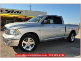 2012 Bright Silver Metallic Dodge Ram 1500 Lone Star Quad Cab #71914972