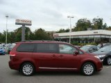 2012 Salsa Red Pearl Toyota Sienna LE AWD #71914808