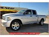 2012 Bright Silver Metallic Dodge Ram 1500 Express Quad Cab #71914968