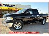 2012 Black Dodge Ram 1500 Lone Star Quad Cab #71914967