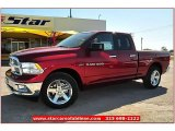 2012 Deep Cherry Red Crystal Pearl Dodge Ram 1500 Lone Star Quad Cab #71914966