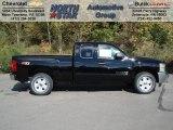 2012 Black Chevrolet Silverado 1500 LT Extended Cab 4x4 #71914699
