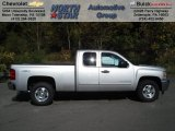 2012 Silver Ice Metallic Chevrolet Silverado 1500 LT Extended Cab 4x4 #71914698