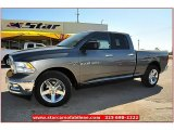 2012 Mineral Gray Metallic Dodge Ram 1500 Lone Star Quad Cab #71914963