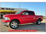 2012 Flame Red Dodge Ram 1500 Lone Star Crew Cab #71914962