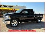 2012 Black Dodge Ram 1500 Lone Star Quad Cab #71914960