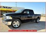 2012 Black Dodge Ram 1500 Lone Star Quad Cab #71914959