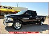 2012 Black Dodge Ram 1500 Lone Star Quad Cab #71914958