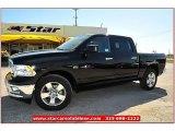 2012 Black Dodge Ram 1500 Lone Star Crew Cab 4x4 #71914954
