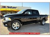 2012 Black Dodge Ram 1500 Express Crew Cab 4x4 #71914953