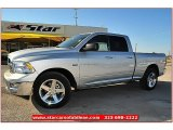 2012 Bright Silver Metallic Dodge Ram 1500 Lone Star Quad Cab #71914952