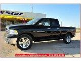 2012 Black Dodge Ram 1500 Lone Star Quad Cab #71914951