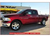 2012 Deep Cherry Red Crystal Pearl Dodge Ram 1500 Lone Star Quad Cab #71914949